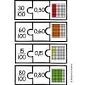 Casse-têtes des nombres décimaux et des fractions