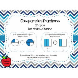Compare les fractions