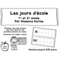 Les jours d'école (version hors Québec) GRATUIT