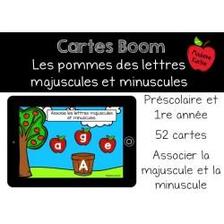 Les pommes des majuscules et minuscules - Boom