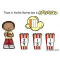 Popcorn des fractions - Boom