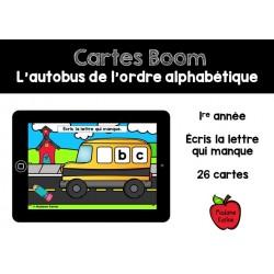 L'autobus de l'ordre alphabétique - Boom