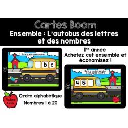 Ensemble L'autobus des lettres et des nombres Boom