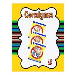 Consignes visuelles (3)
