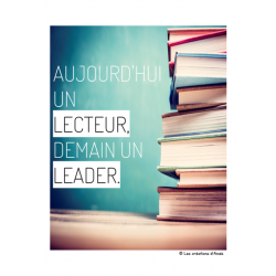 Affiches pour coin lecture