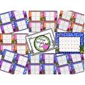 2 ensembles de cartes à tâches - Plan cartésien