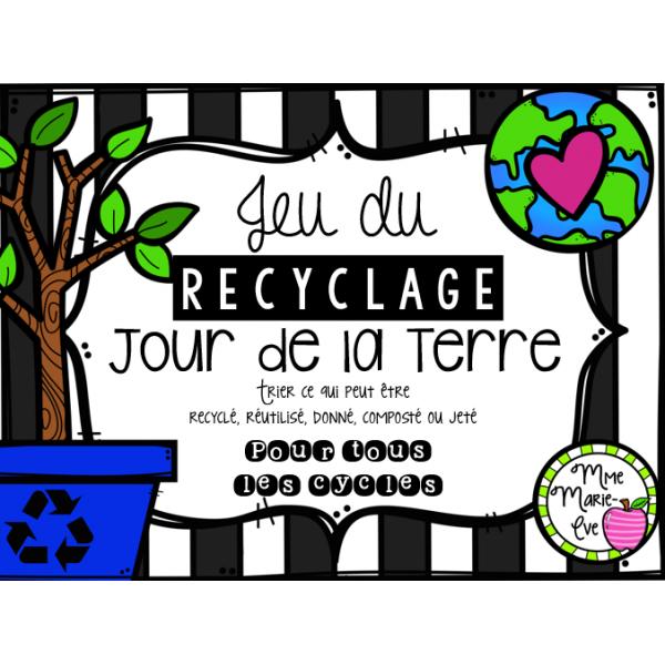 Recyclage - Jour de la Terre