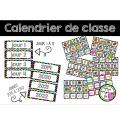 Calendrier de classe - Rentrée scolaire