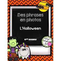 Des phrases en photos - Halloween