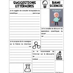BAM - Suggestions littéraires