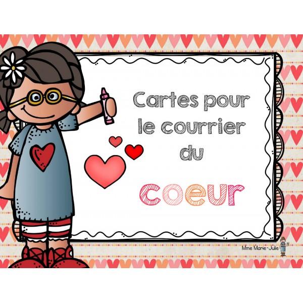 Cartes de la Sain-Valentin