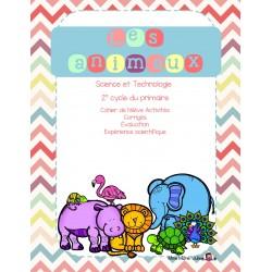 Cahier de science sur les animaux