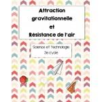 Attraction gravitationnelle/Résistance de l'air