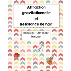 Attraction gravitationnelle/Résistance de l'air