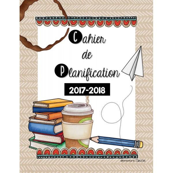 Cahier de planification 2017-2018 3-2