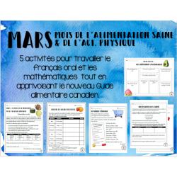 MARS: le mois de l'alimentation et du sport