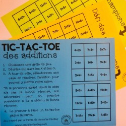 Tic tac toe des additions