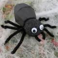 Bricolage : une araignée réaliste