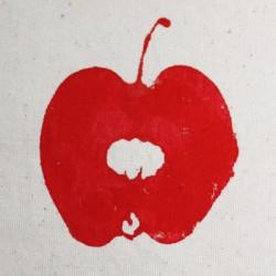 Peinture avec des pommes