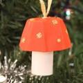 Petit champignon : projet d'automne ou de Noël