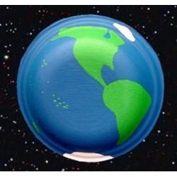 Sciences et art visuel : globe terrestre