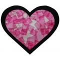 Bricolage St-Valentin: Vitrail coeur