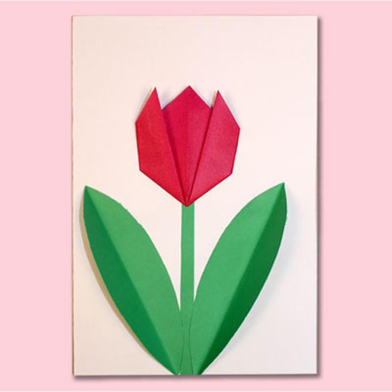 Fleurs en origami faciles à faire