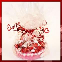Panier cadeau de Saint-Valentin