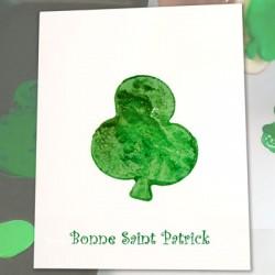 Carte de Saint-Patrick