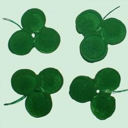 Impressions de trèfles pour St-Patrick