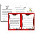 Les olympiques - La luge