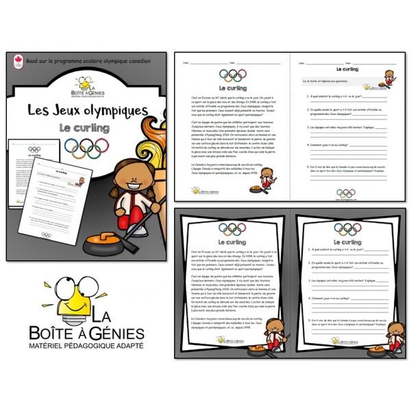 Les olympiques - Le curling
