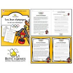 Les olympiques - Le ski acrobatique