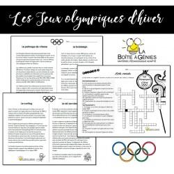 Les olympiques - Mots croisés