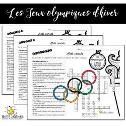 Les olympiques - Mots croisés 2