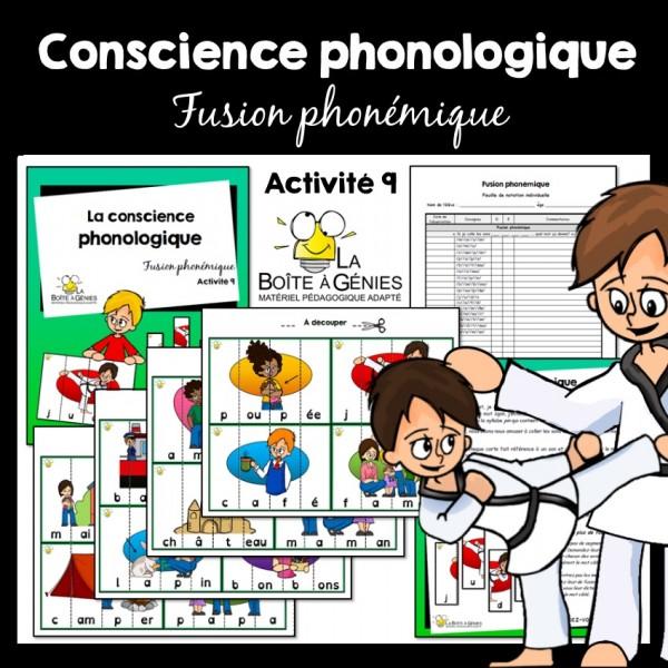 9 Conscience phono - Fusion phonémique