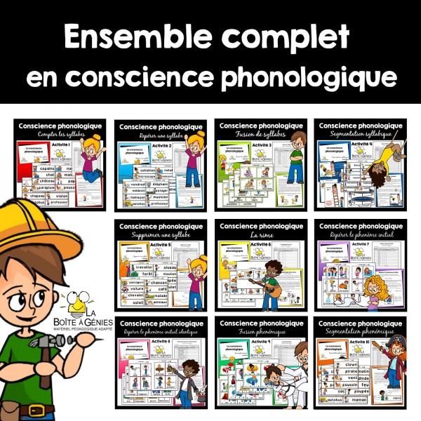 Ensemble complet en conscience phonologique