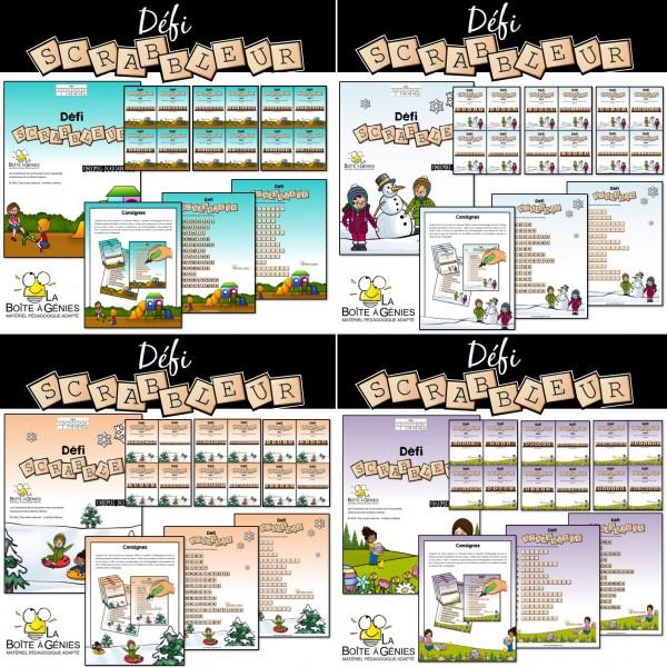 4 activités Défi Scrabbleur