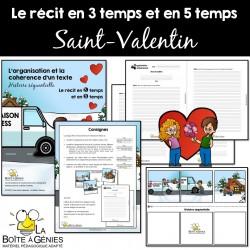 Le récit - Saint-valentin