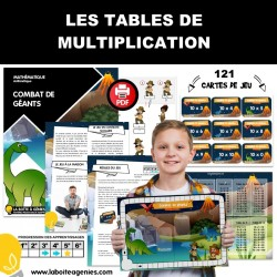 JEU DE TABLE - MULTIPLICATION