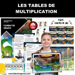 JEU DE TABLE - MULTIPLICATION
