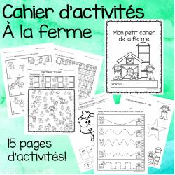 Cahier d'activités - À la ferme