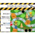 La route en construction