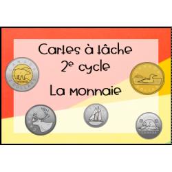 Cartes à tâche - La monnaie