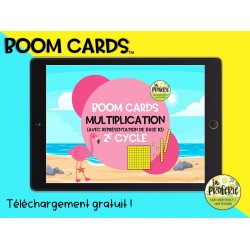 Boom cards - La multiplication