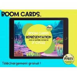 Boom cards - La représentation d'un nb.