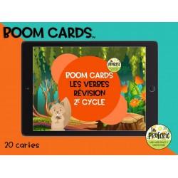 Boom cards - Les verbes