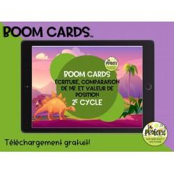 Boom cards - Les nombres
