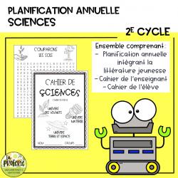 Planification annuelle Sciences - 2e cycle