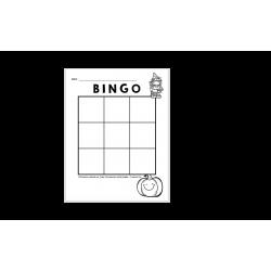 Bingo de l'Halloween (9 cases)